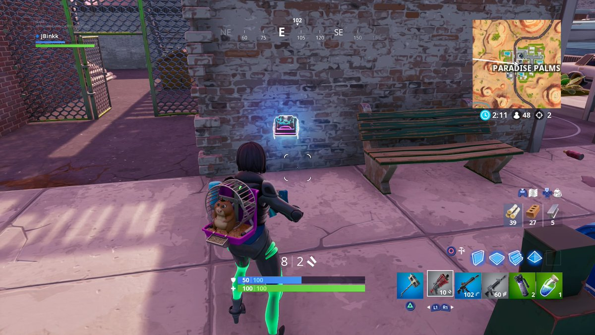 Fortnite Fortbyte 91 Location Found At A Location Hidden
