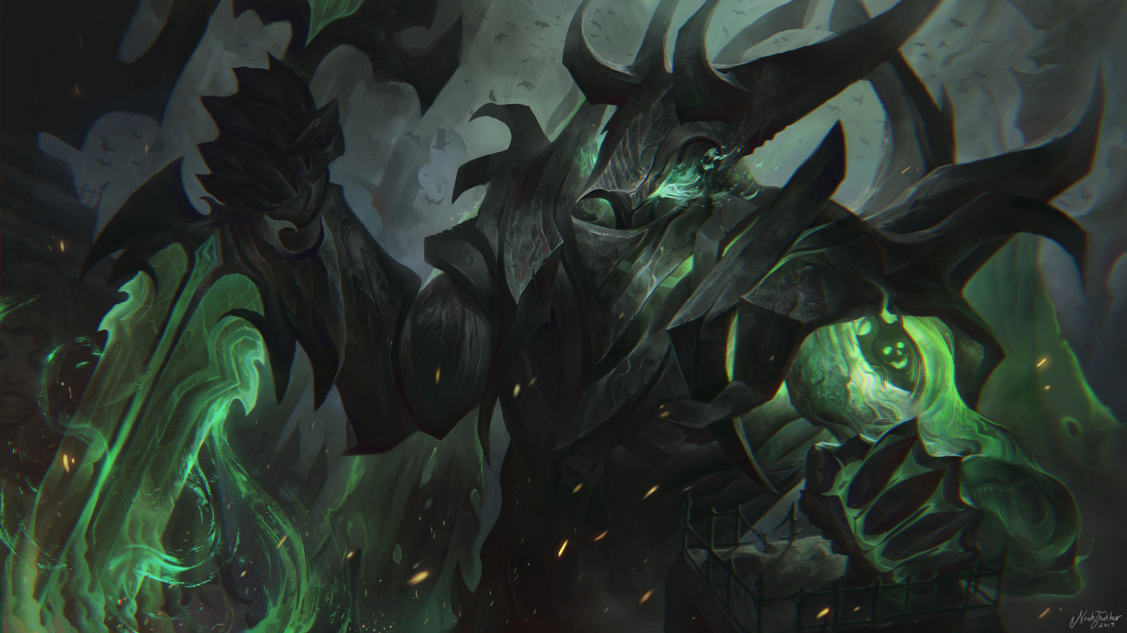 League Fan Creates Gravelord Aatrox Skin Concept That Rivals Riots