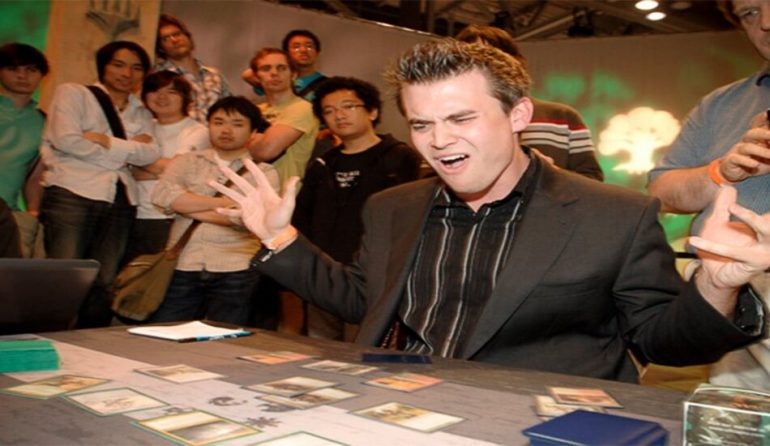 MTG Pro Brian Kibler at a Magic the Gathering event