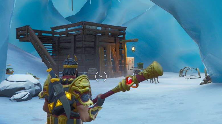 Here's Where To Find Fortnite Fortbyte 49 In Trog's Ice Cave