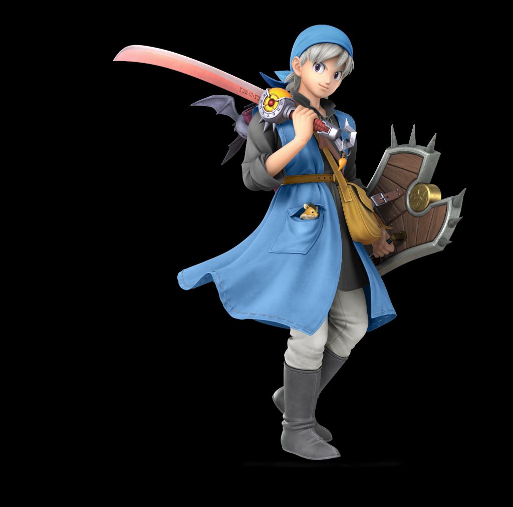 All Dragon Quest Hero alternative costumes in Smash Bros  Ultimate