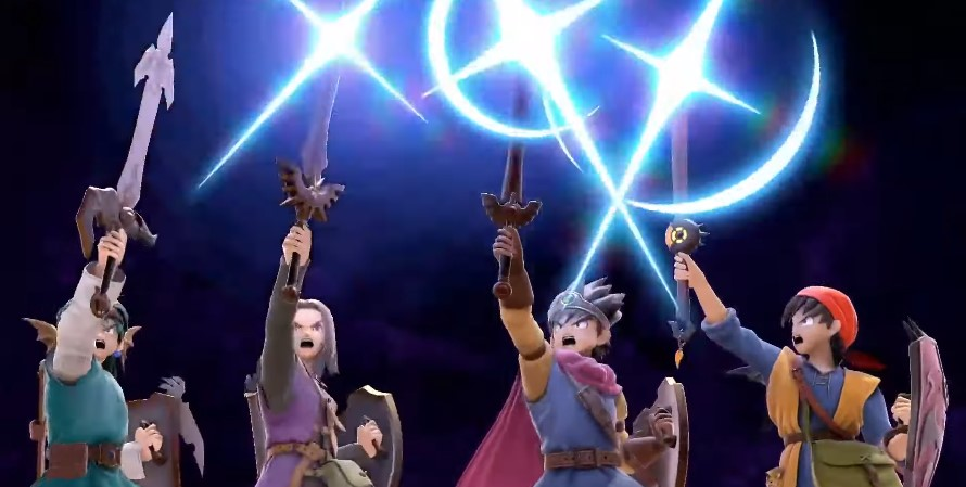 Who are the four Dragon Quest Heroes coming to Smash Ultimate? | Dot