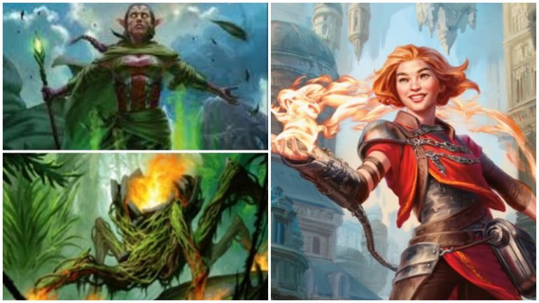 MTG Core Set 2020 Elementals dominate