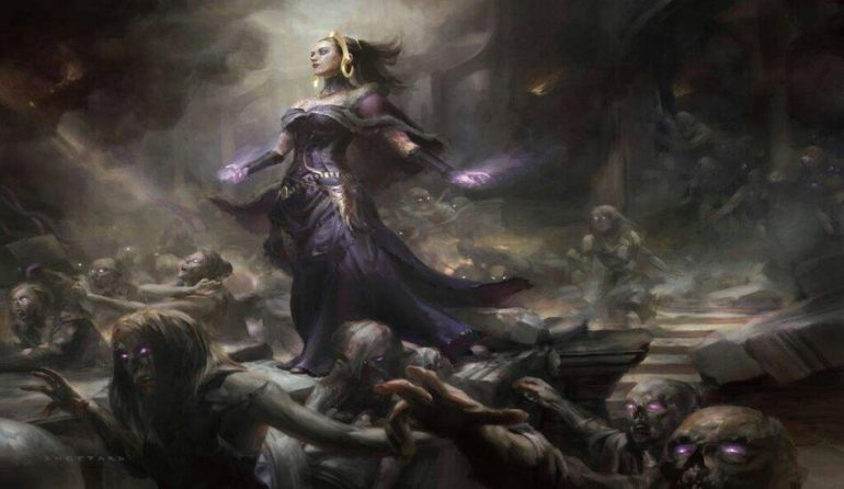 Liliana and her Zombie Army Core Set 2020