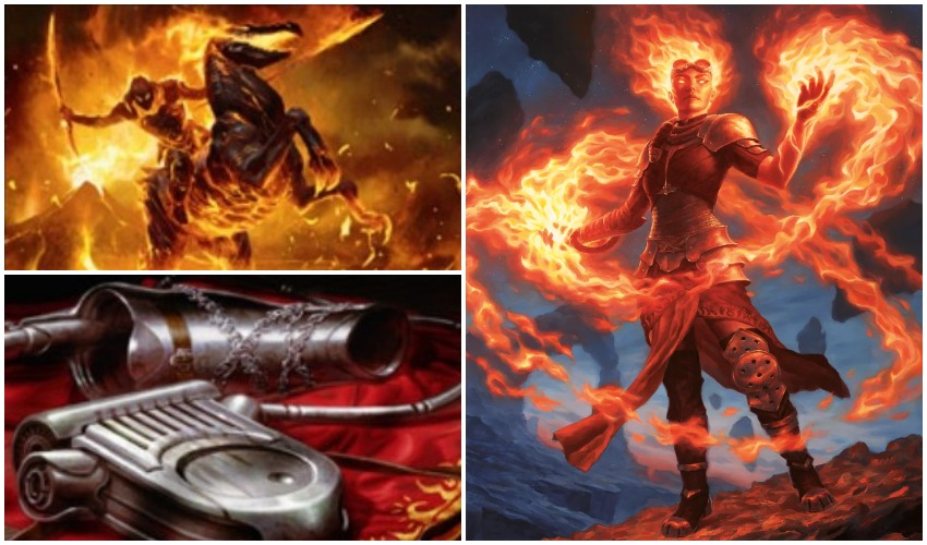 Here's a deadly MTG M20 spoiler combo with Chandra's