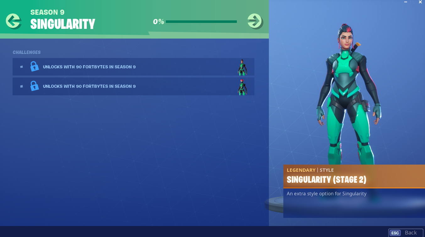 Fortnite What We Know About The Utopia Skin Singularity