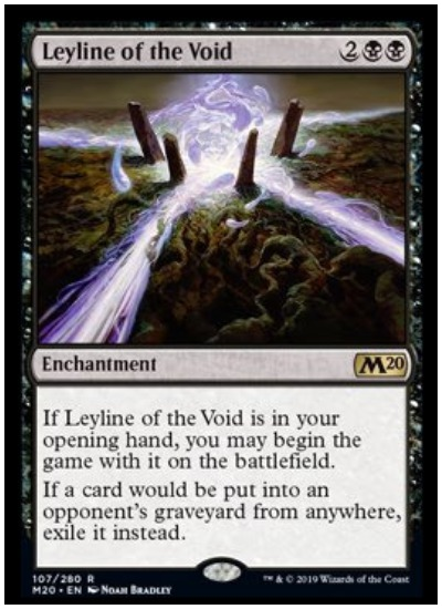 Leyline of the Void MTG Core Set 2020