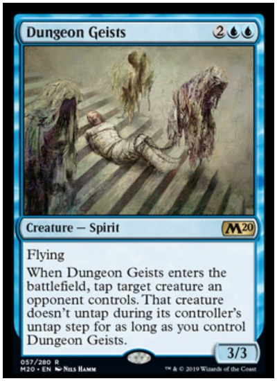 Dungeon Geists MTG Core Set 2020