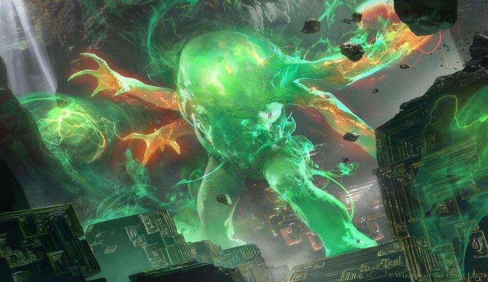 MTG Elemental Commander rage with M20 spoiler Omnath | Dot