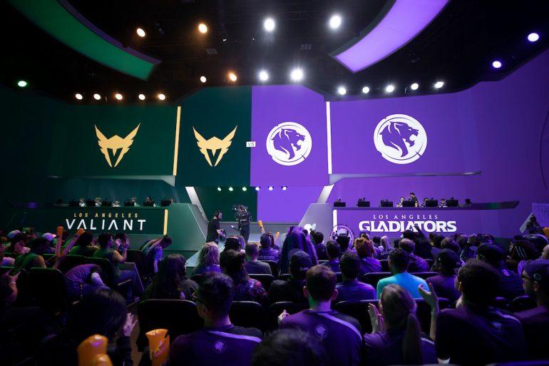 Los Angeles Valiant vs Los Angeles Gladiators
