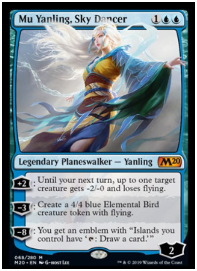 Mu Yanling, Sky Dancer MTG Core Set 2020