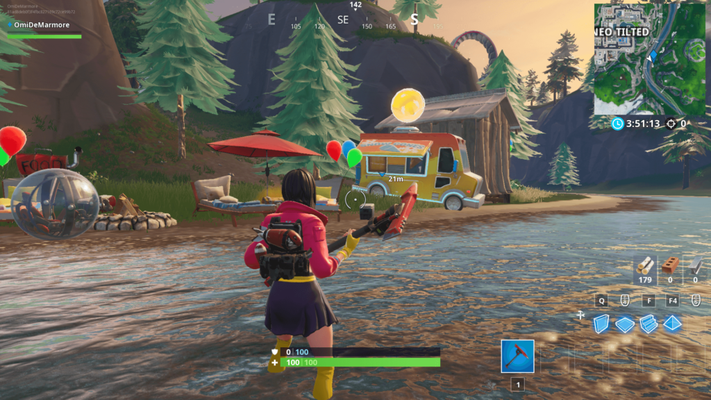 Fortnite: Beach Party Locations (14 Days of Summer Challenge)   Dot