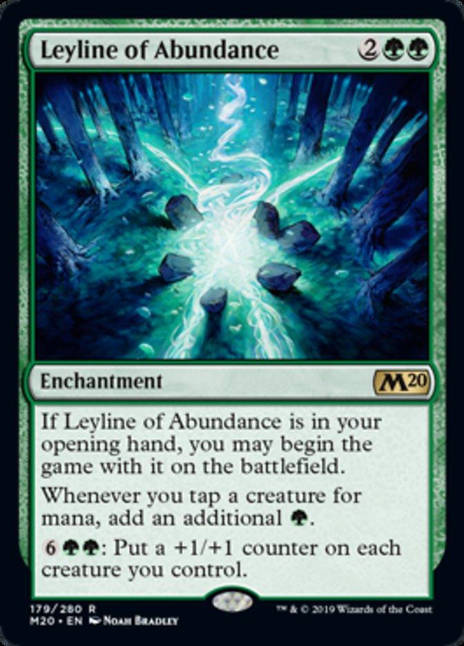 Leyline of Abundance Magic Core Set 2020