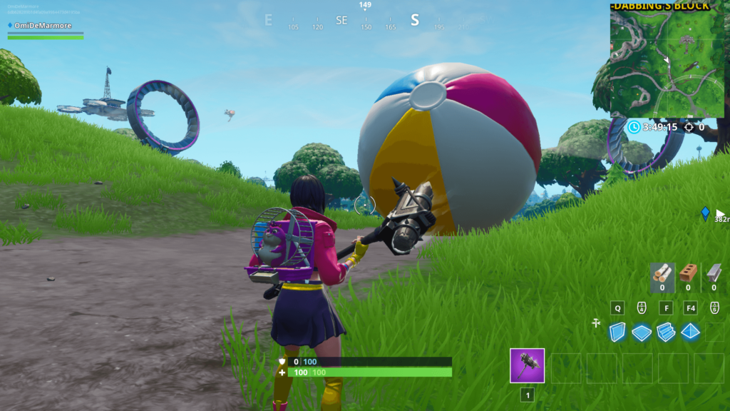 Days of Summer Fortnite Event Day 2 - Quad Launcher Unvaulted