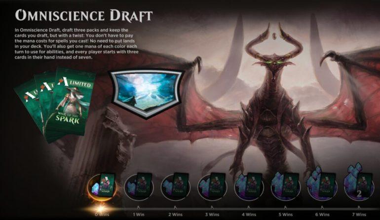 MTG Arena Omniscience Draft