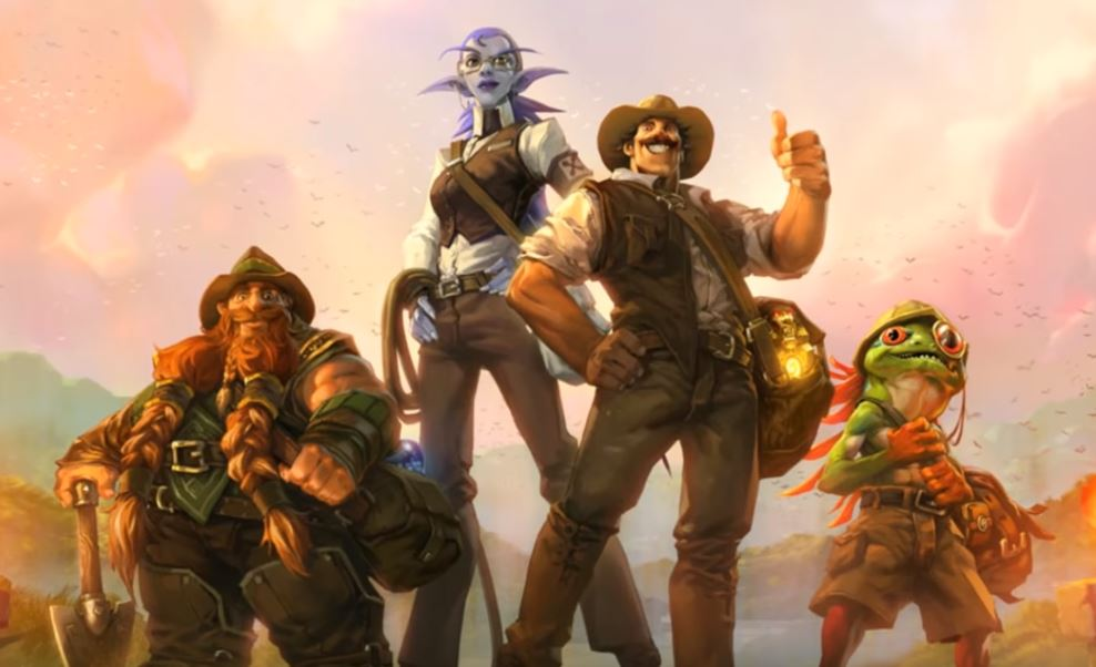 Who Is A Part Of Hearthstone U0026 39 S League Of Explorers Dot
