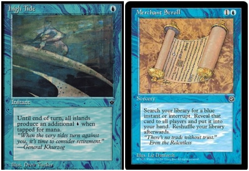 High Tide and Merchant Scroll combo ban in Pauper MTG