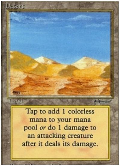 Desert Pauper MTG