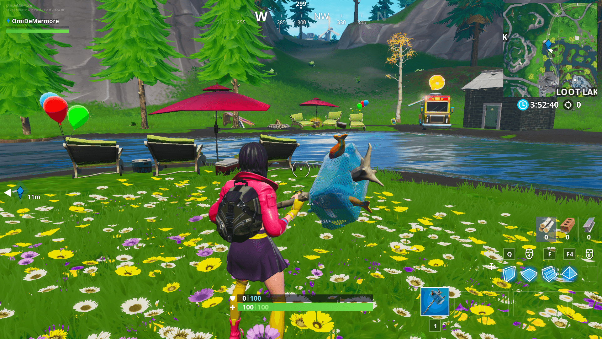 Fortnite: Party Balloon Decorations Locations (14 Days of Summer