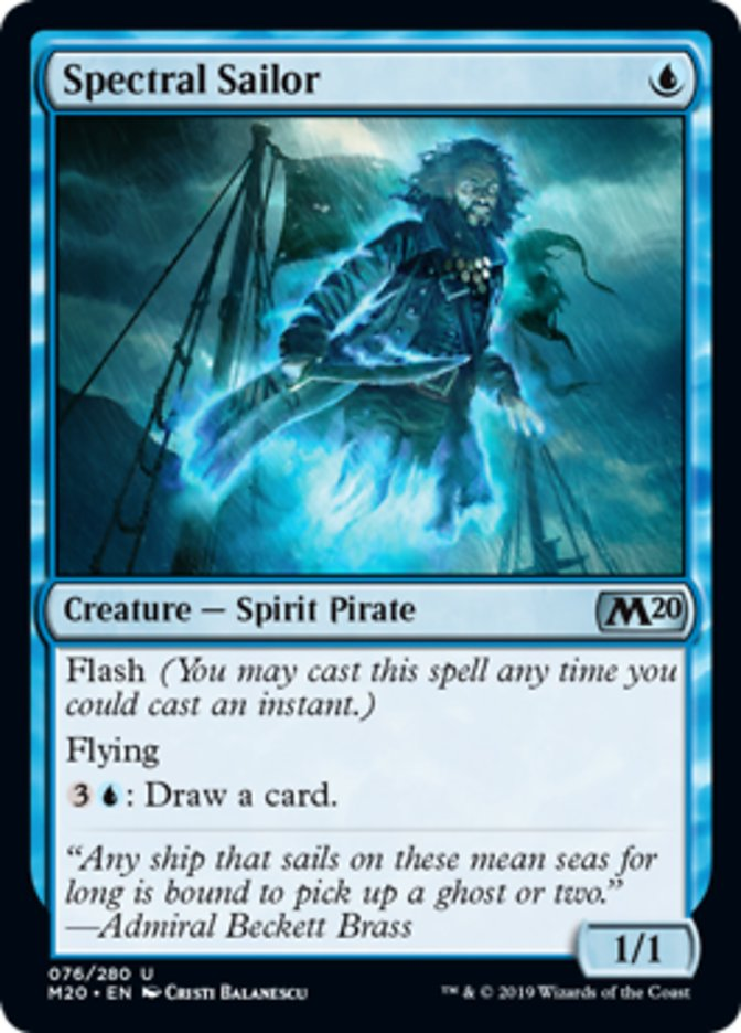 Spectral Sailor Magic Core Set 2020
