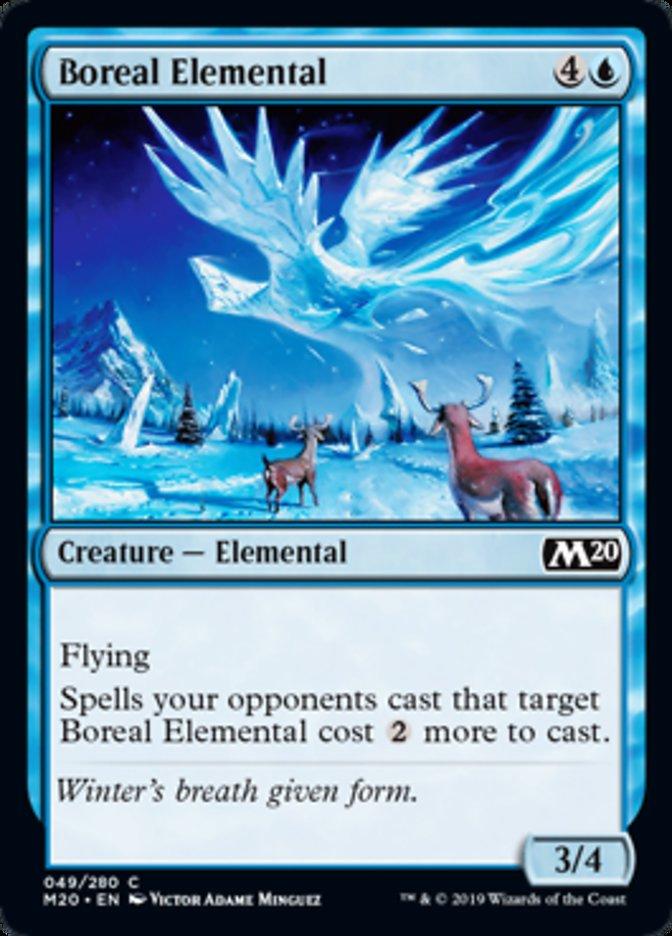 Boreal Elemental Magic Core Set 2020
