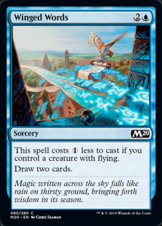 Winged Words Magic Core Set 2020