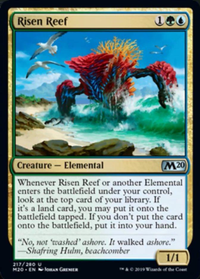 Risen Reef Magic Core Set 2020
