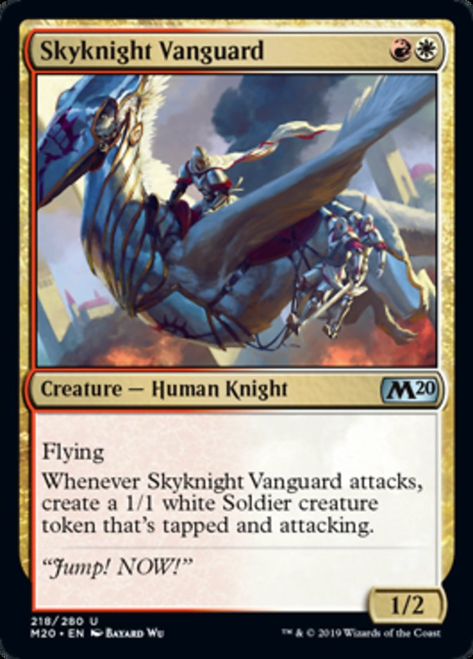Skyknight Vanguard Magic Core Set 2020