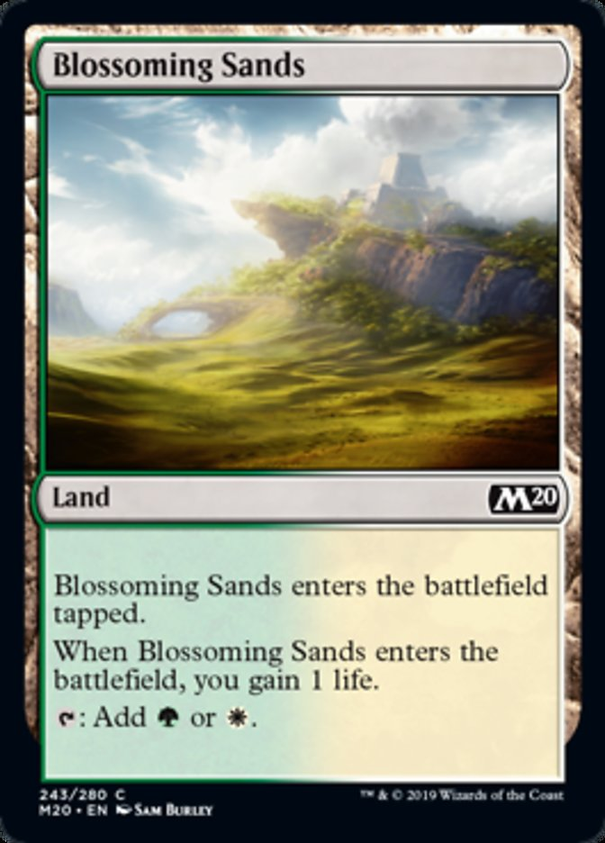 Blossoming Sands Magic Core Set 2020