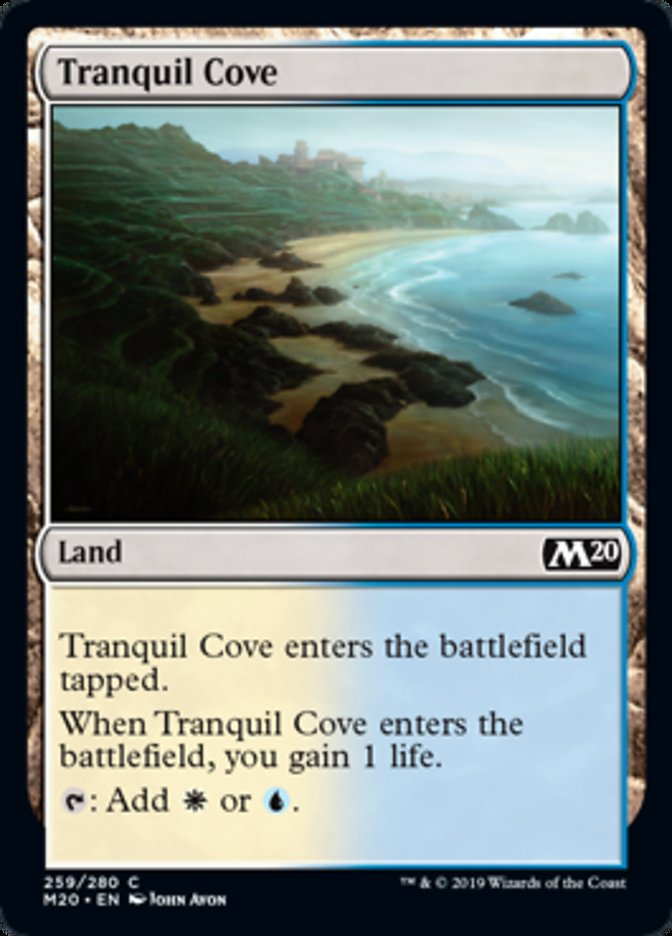 Tranquil Cove Magic Core Set 2020