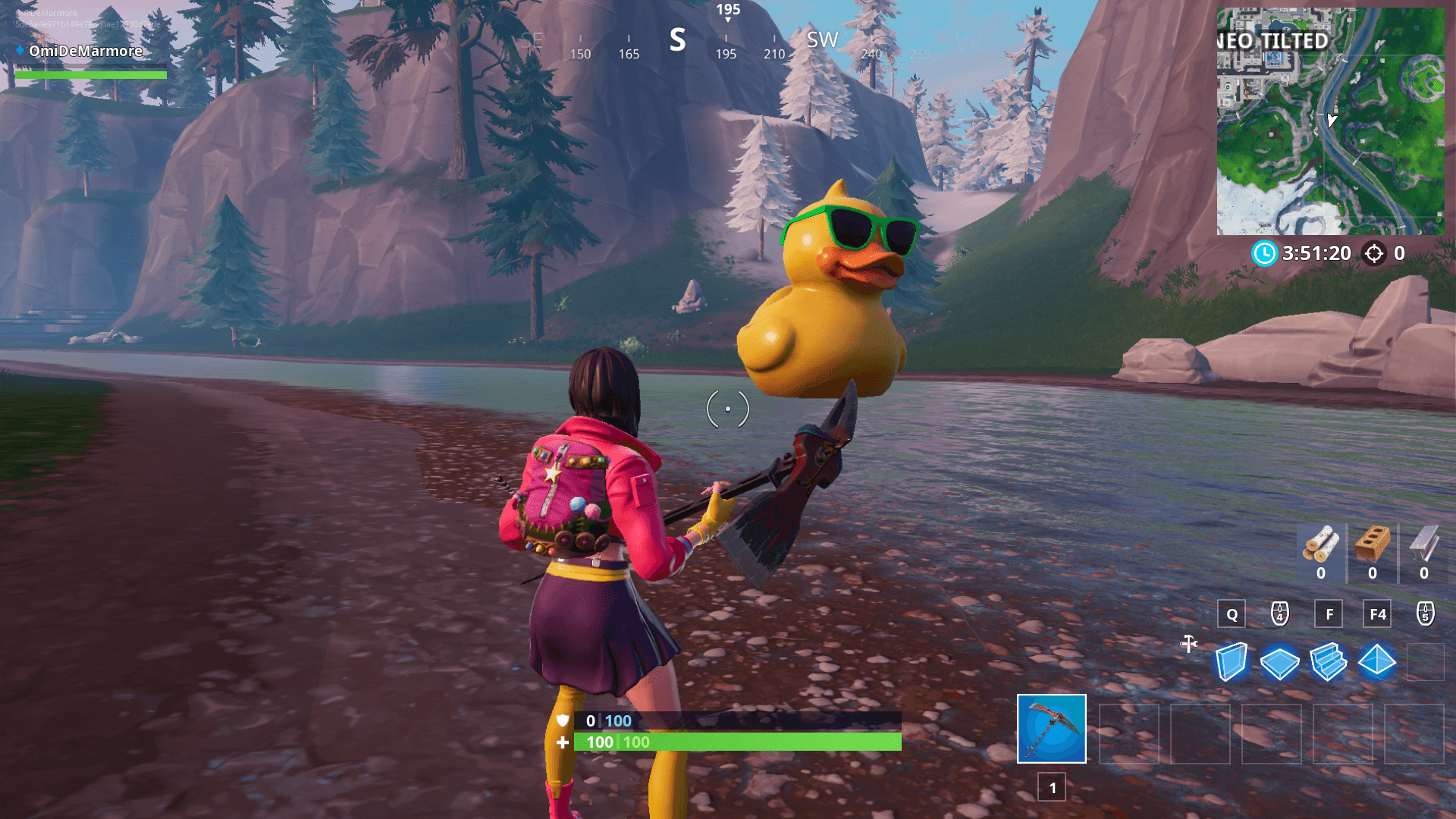 Fortnite Huge Rubber Ducky Location 14 Days Of Summer Dot Esports