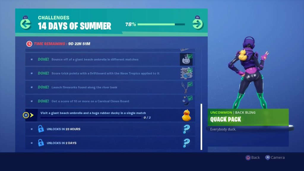 Fortnite 14 Days Of Summer Challenges And Rewards List Dot Esports