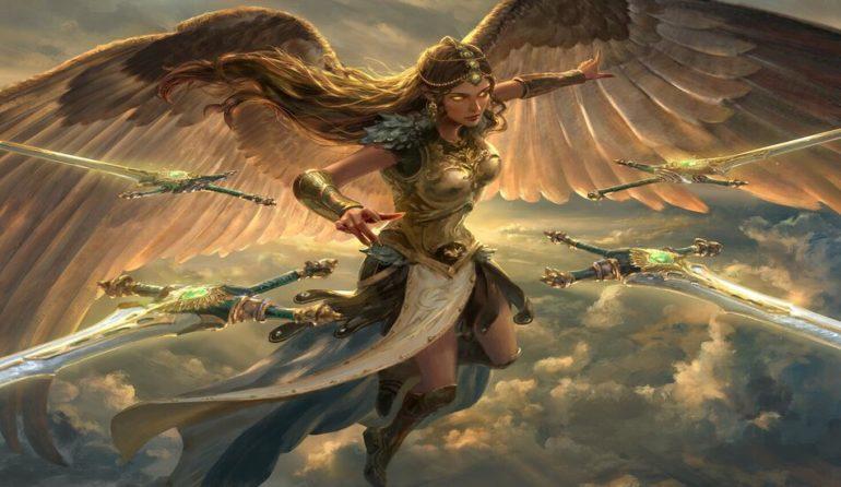 Sephara's, Sky Blade Core Set 2020 Metagame Challenge MTGA