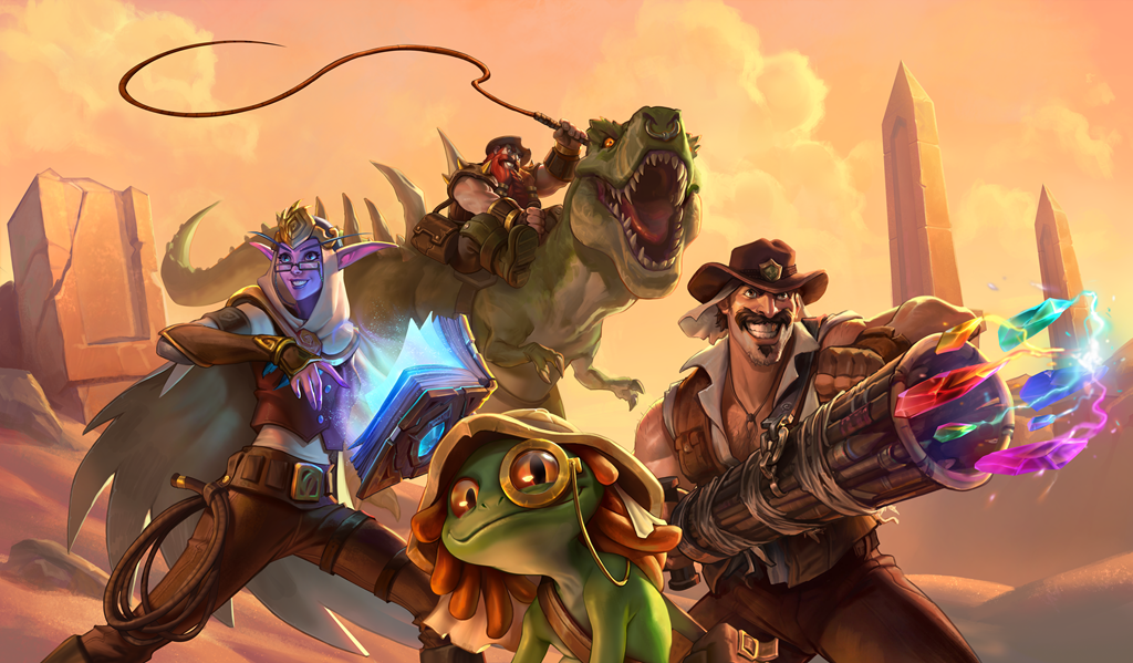 Blizzard is offering Hearthstone fans free Saviors of Uldum