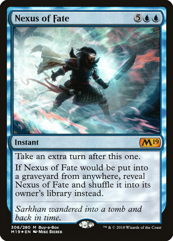 Nexus of Fate Magic Core Set 2019