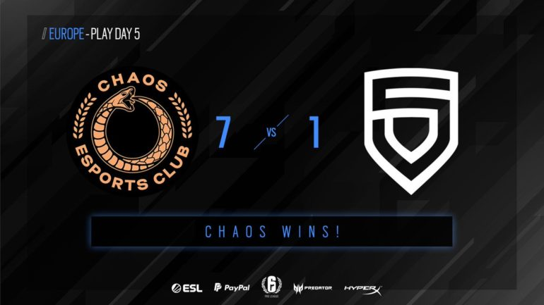 CHAOS vs PENTA matchday five