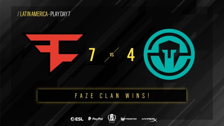FaZe vs Immortals matchday seven