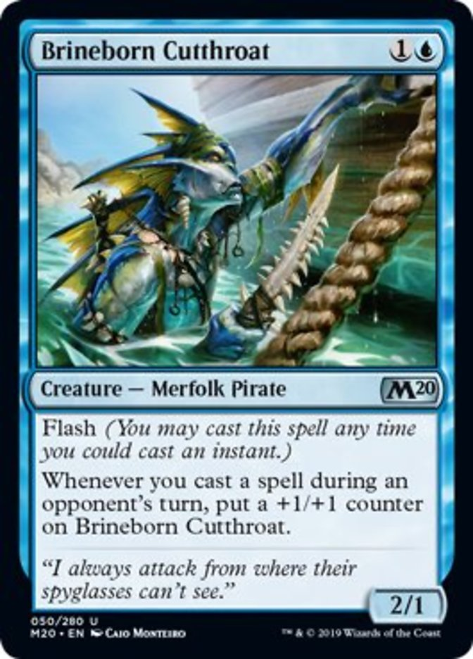 Brineborn Cutthroat Magic Core Set 2020