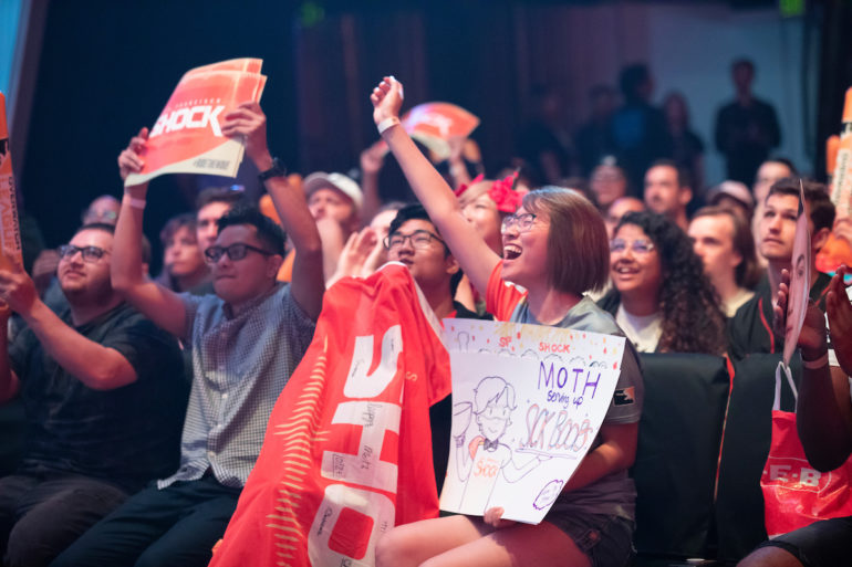 San Francisco Shock fans