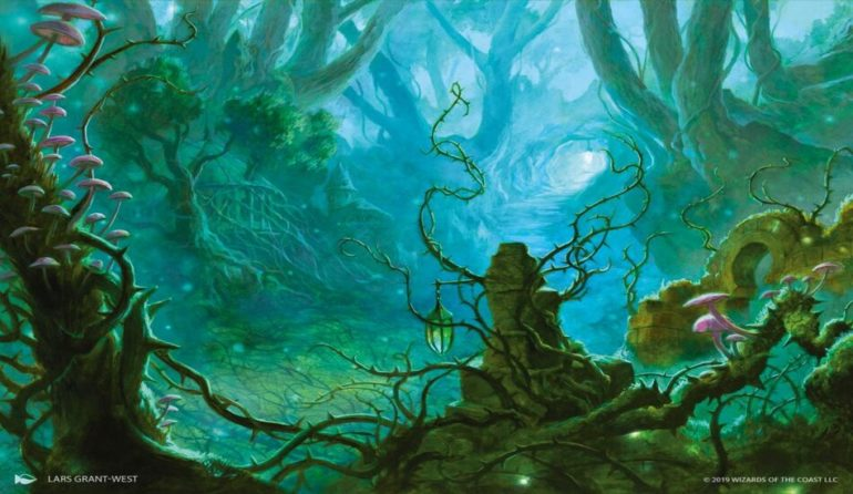 Magic The Gathering Throne of Eldraine booster pack and card style changes
