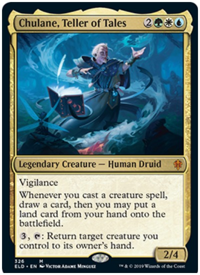 Chulane Teller of Tales MTG Throne of Eldraine and Brawl
