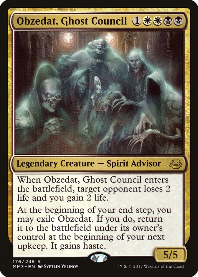 Obzedat Ghost Council Magic