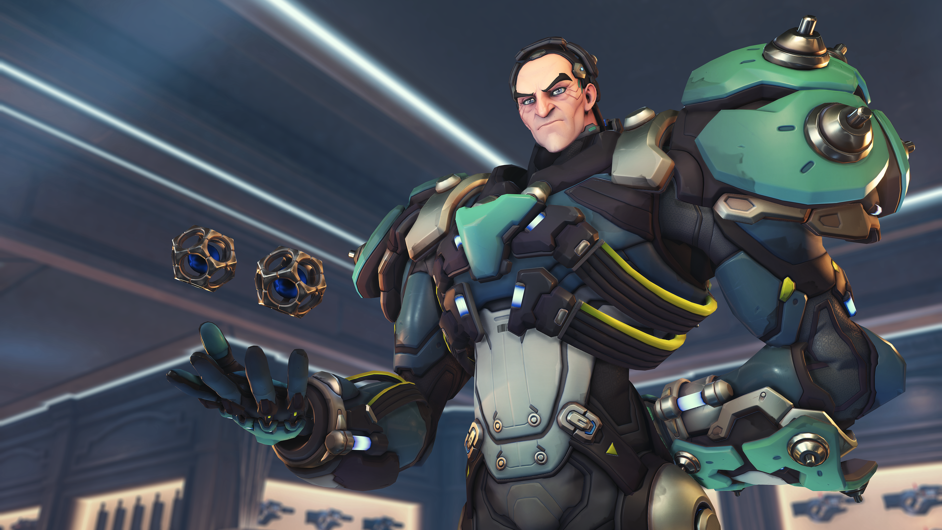 Overwatch Sigma abilities breakdown: Looking at his gravity-defying skills