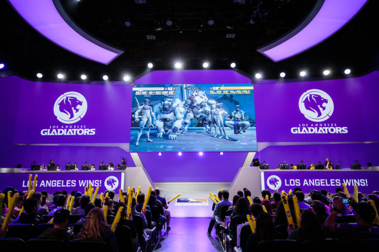 Los Angeles Gladiators wins