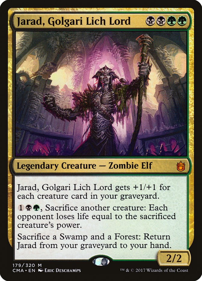 Jarad Golgari Lich Lord Magic