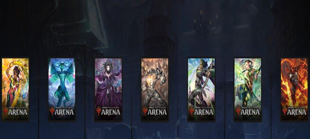 MTG Arena Japanese alt art card sleeves