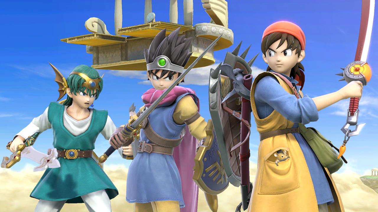 Today's Super Smash Bros  Ultimate's 4 0 update brings online