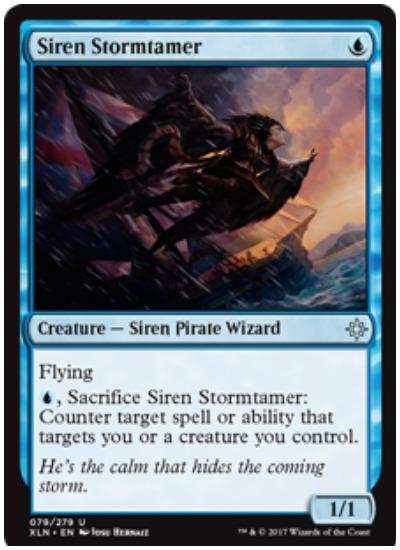 Siren Stormtamer MTG