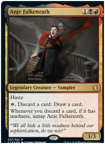 Anje Falkenrath Commander 2019 MTG