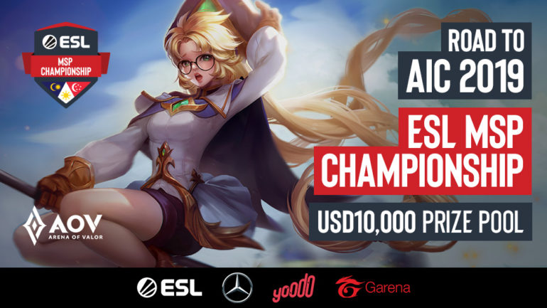 esl msp championship arena of valor aov